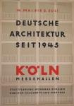 Oehlen, Adolf - 1949 - Messehallen Köln (Deutsche Architektur seit 1945)