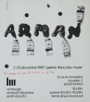 Arman - 1967 - Galerie Francoise Mayer