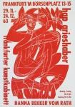 Grieshaber, HAP - 1963 - Frankfurter Kunstkabinett