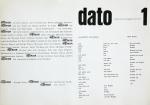 Piene, Otto - 1961 - Galerie dato (sensibilité prusienne und Entwurf)