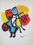 Appel, Karel - 1967 - Speise- und Einladungskarte