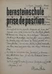 Grieshaber, HAP - 1953 - bernsteinschule (prise de position, Martin Buber)