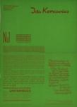 Grieshaber, HAP - 1952 - unterwegs no. 1 (Ida Kerkovius)