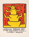 Poster: Haring, Keith - 1999 - Learning Through Art