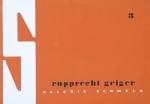 Geiger, Rupprecht - 1957 - Galerie Schmela (Einladung)