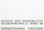 Klein, Yves und Werner Ruhnau - 1990 - Schule der Sensibilität