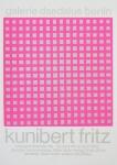 Fritz, Kunibert - 1969 - Galerie Daedalus Berlin