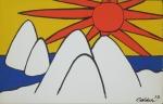 Calder, Alexander - 1973 - Perls Galleries (Einladung)
