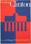 Ott, Nicolaus/Stein, Bernhard - 1994 - President Clinton Brandenburger Tor