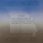 Morris, Robert - 1970 - Castelli Graphics  (Earth Projects)