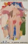 Kooning, Willem de - 1963 - Centre Culturel Américains (de A à Z - 31 peintres américains)