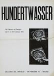 Hundertwasser, Friedensreich - 1955 - Galleria del Naviglio (Einladung)