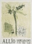 Allio, René - 1961 - Galerie Lara Vincy Paris