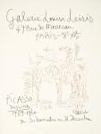 Picasso, Pablo - 1960 - Galerie Louse Leiris (Dessins 1959-60, Plakat und Einladung)