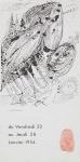 Hayter, Stanley William - 1954 - Phases (Einladung)