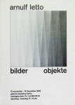 Poster: Letto, Arnulf - 1970 - Galerie Daedalus