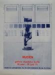 Ruden, Dieter - 1971 - Galerie Daedalus