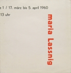 Lassnig, Maria - 1960 - Galerie St. Stephan, Wien
