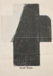 Rainer, Arnulf - 1973 - Werbeblatt (Vermächtnis und Blindzeichnungen)