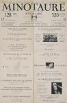 Anonym - 1933 - Minotaure Nr.3-4