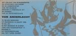 Van Anderlecht, Engelbert - 1968 - Musée d Ixelles (Einladung)