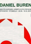 Poster: Buren, Daniel - 2010 - Synagoge Stommeln (poster and catalogue)