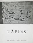 Tàpies, Antoni - 1957 - Galerie Stadler (Einladung)