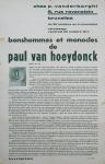 Van Hoeydonck, Paul - 1961 - Vanderborght Bruxelles (bonshommes et monocles)