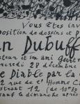 Dubuffet, Jean - 1949 - Galerie Geert van Bruaene / Le Diable par la Queue Brüssel