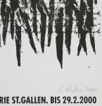 Uecker, Günther - 2000 - Erker-Galerie St.Gallen (Wort-Schrift-Zeichen)