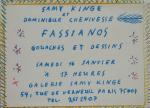 Fassianos, Alekos - 1982 - Galerie Samy Kinge Paris (Einladung)