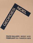 Noel, Georges - 1973 - Pace Gallery New York (Einladung)