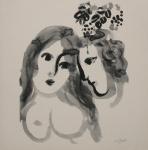 Chagall, Marc - 1987 - Galerie Adrien Maeght Paris (Einladung)