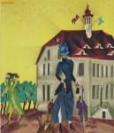 Feininger, Lyonel - 1974 -  Galerie Berggruen Paris (Einladung)