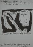 McLean, Bruce - 1984 -  XPO Galerie Hamburg (Einladung)