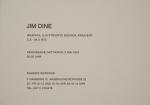 Dine, Jim - 1973 - Galerie Wünsche (Einladung)