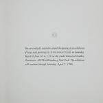 Gottlieb, Adolph - 1980 - André Emmerich Gallery New York (Einladung)