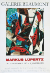 Lüpertz, Markus - 1985 - Galerie Beaumont Luxembourg