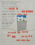 Bertholo, René - 1969 - Galerie 20 Amsterdam (modèles reduits)