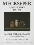 Meckseper, Friedrich - 1980 - Galerie Patrick Cramer Genéve
