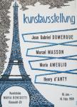 Witschi, Werner - 1959 - Kunststube Maria Benedetti Küsnacht (DOMERGUE, MASSON, AMEGLIO, d ANTY)