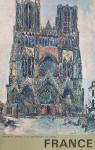 Utrillo, Maurice - 1961 - France  (La cathédrale de Reims)