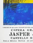 Johns, Jasper - 1972 - Castello Sforzesco Milano (painting with two balls)