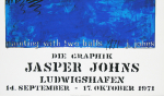 Johns, Jasper - 1971 - Ludwigshafen (painting with two balls)