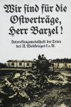 Staeck, Klaus - 1972 - Wir sind für die Ostverträge, Herr Barzel !
