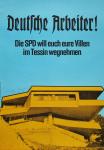 Staeck, Klaus - 1972 - Deutsche Arbeiter! Die SPD will euch eure Villen im Tessin wegnehmen