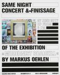 Oehlen, Markus - 2017 - Galerie Hans Mayer Düsseldorf (Modernist Roadkill - Einladung)