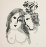 Chagall, Marc - 1987 - Galerie Maeght Paris (Einladung)