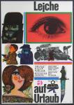 Edelmann, Heinz - 1963 - Filmplakat Leiche auf Urlaub