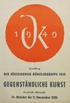 Schardt, Hermann - 1956 - Kunsthalle Alleestraße Düsseldorf (Düsseldorfer Künstlergruppe 1949)